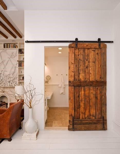 در چوبی برای دکوراسیون چوبی منزل