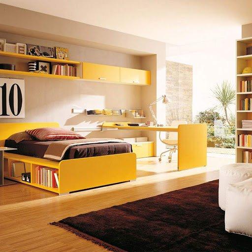 دسترسی آسان برای وسایل اتاق خواب نوجوانان