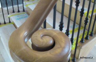معرفی انواع نرده های چوبی برای پله ها