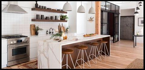 17 سبک جذاب کابینت آشپزخانه و ایده های طراحی