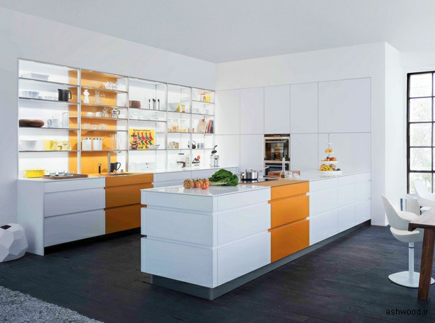 قفسه برای آشپزخانه, قفسه چوبی آشپزخانه