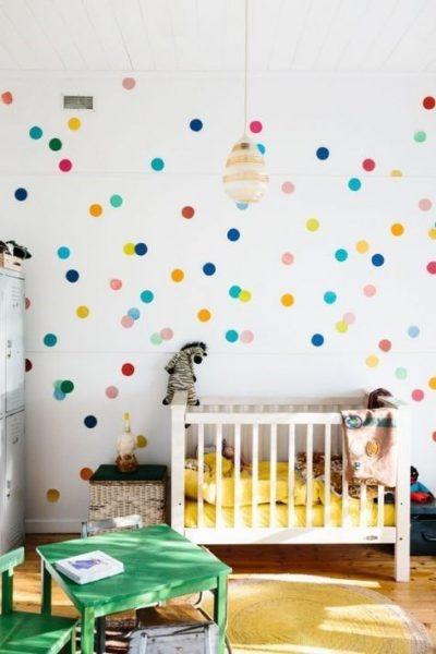 دکوراسیون اتاق کودک رنگارنگ