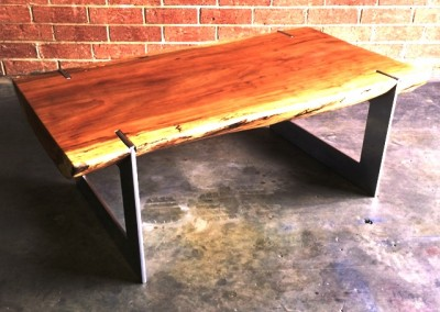 دکوراسیون روستیک , میز قهوه خوری تنه درخت 13