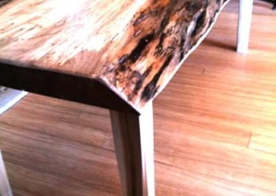 دکوراسیون روستیک , میز قهوه خوری تنه درخت 20