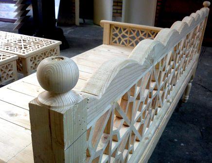 ابعاد تخت سنتی
