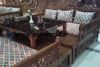 دکوراسیون سنتی تخت سنتی مبلمان رستوران سنتی (1)