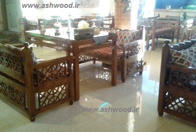 دکوراسیون سنتی تخت سنتی مبلمان رستوران سنتی
