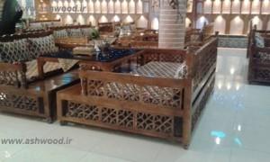 مبل تخت سنتی چوبی ، گره ... خريد صندلی سنتی راحتی ،  سایت قیمت ها