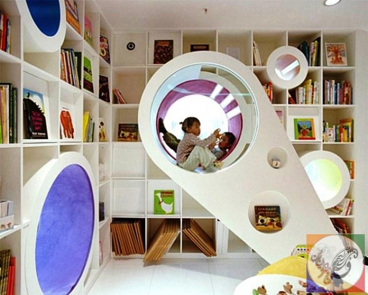 معماری شگفت انگیزی داخلی طراحی داخلی و دکور مبلمان آرشیو اخبار ایده تخیلی معاصر برای کودکان و نوجوانان Playrooms