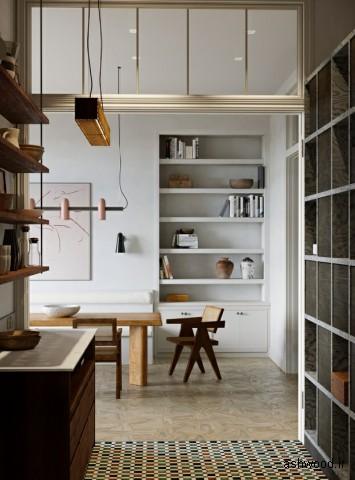 دکوراسیون و مبلمان مدرن الهام گرفته از سبک میانه قرن, سبک مدرن در دکوراسیون چوبی
