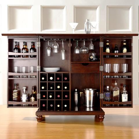 مدل میز بار دیواری دکوراسیون میز بار آنتیک و کلاسیک چوبی (14) | فن و هنر ...