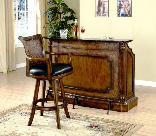 مدل های میز بار: دکوراسیون میز بار آنتیک و کلاسیک چوبی (35)