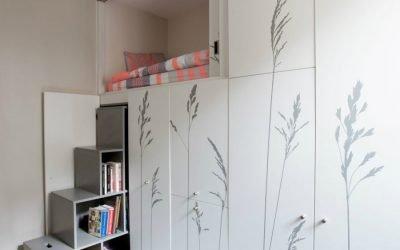 ایده دکوراسیون چوبی برای میکرو آپارتمان زیر 30 متر مربع