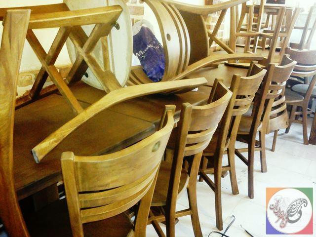 میز و صندلی نهارخوری چهار نفره رستوران سنتی