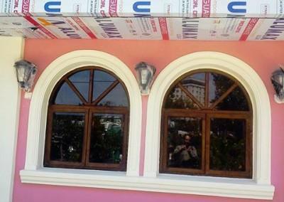 نمای رستوران سنتی ایتالیایی خیابان پاسداران تهران