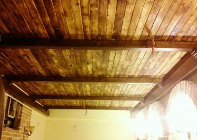 سقف چوبی لمبه کوبی