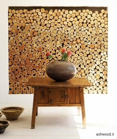 ایده های جالب دکوراسیون چوبی
