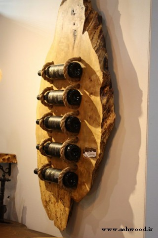 میز و صندلی چوبی ، مبلمان چوبی روستایی (روستیک) ، مبلمان با چوبی طبیعی