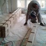 نمونه کار مهندس درویش کوچه طوس که توسط گروه صنایع چوب فن و هنر اجرا شد