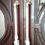 درب لابی چوبی لوکس