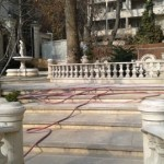 مجتمع طوس تهران خیابان ولیعصر تهران , محوطه سازی