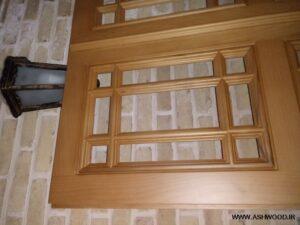 پنجره چوبی گره چینی , پنجره گره چینی شیشه رنگی, پنجره گره چینی چوبی