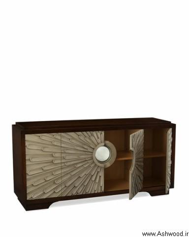 میز کنسول چوبی دکوراسیون چوبی لوکس