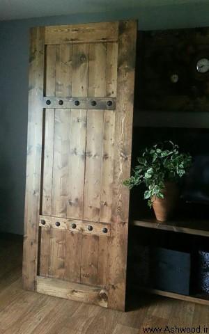 درب آنتیک چوبی