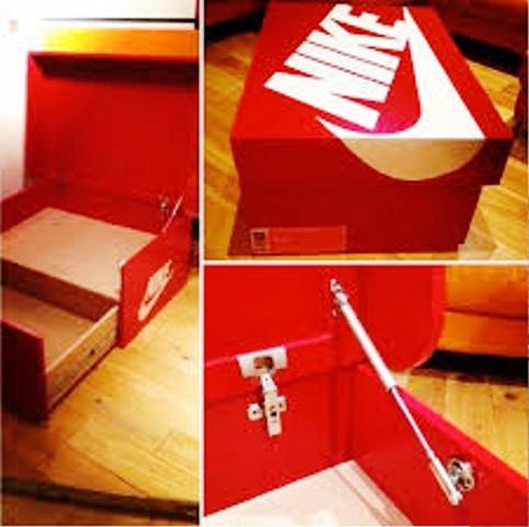 ایده ای زیبا و کاربردی از الاهه پیروزی ، جاکفشی , کفش نایک