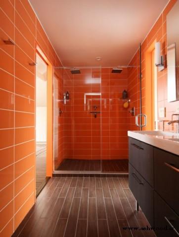 دکوراسیون چوبی, رنگ نارنجی