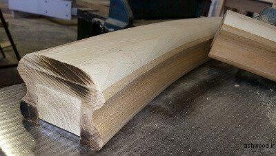 هندریل چوبی , ساخت هندریل و دست انداز پله پیچ