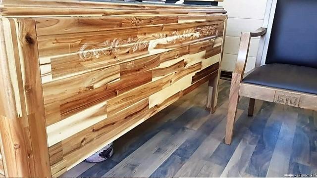 دکوراسیون فینگر جوینت , ایده و مدل های میز کار ساخته شده از پانل فینگر جوینت , تصاویر جدید ورق فینگر جوینت چوب خالص گرید a  وارداتی