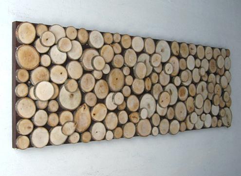 دکوراسیون چوب طبیعی , اسلب در دکور چوبی