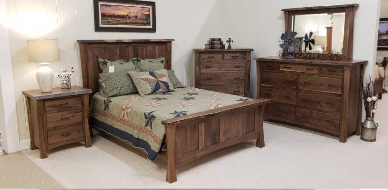 سرویس خواب چوب گردو