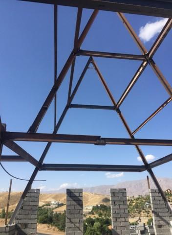 ساخت شله چوب و فلز