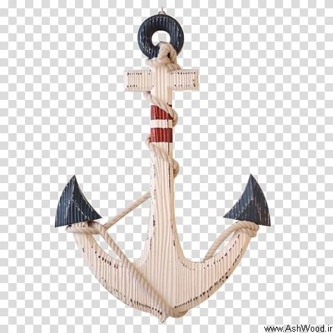 طرح سکان , لنگر در دکوراسیون دریایی
