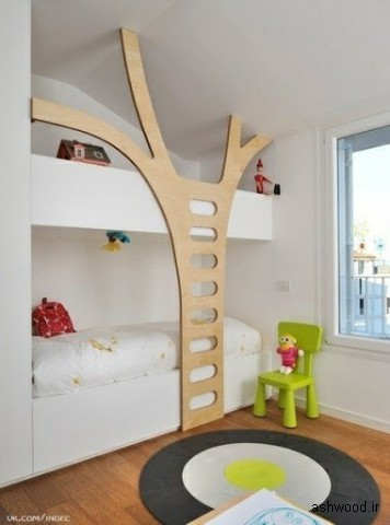 تصاویر جالب از ایده های خلاقانه دکوراسیون چوبی منزل