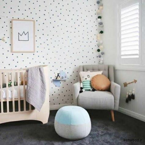 25 ایده زیبا برای دکوراسیون اتاق کودک بدون در نظر گرفتن جنسیت آن
