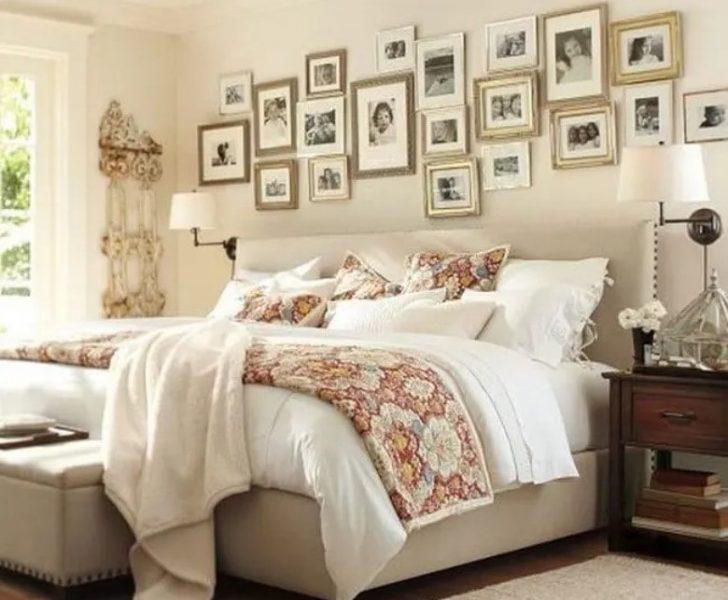 دیوار خاطرات برای اتاق خواب