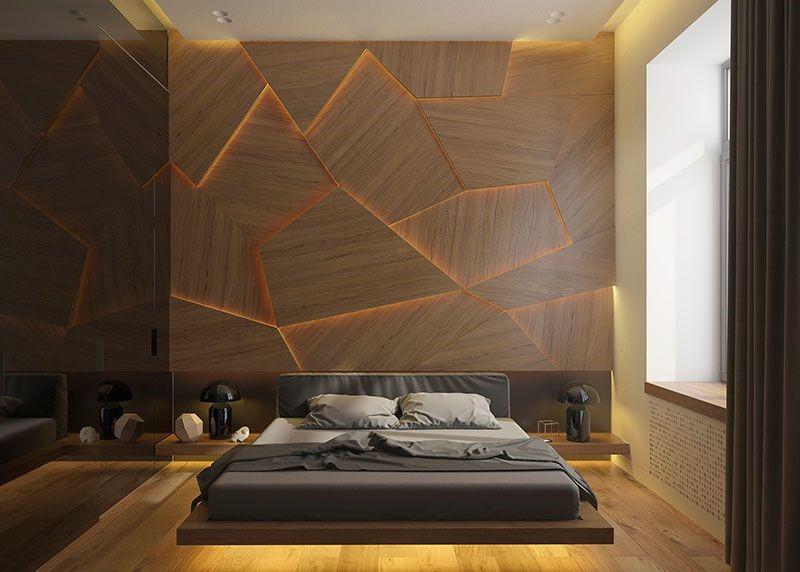 دیوار هندسی مدرن