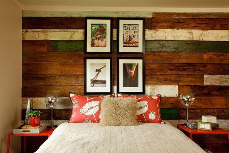 دیوار پوش چوبی زیبا
