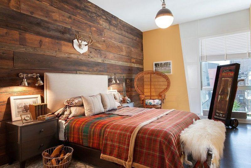 دیوار پوش چوبی کلاسیک