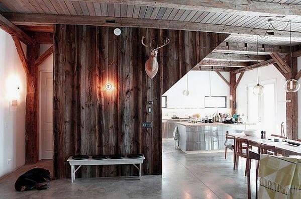 دیوار چوبی برای دکوراسیون چوبی