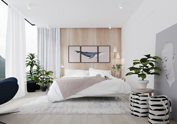 ایده های جالب دیوار کوب چوبی در دکوراسیون چوبی داخلی