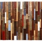 دیوار کوب چوبی art wood wall