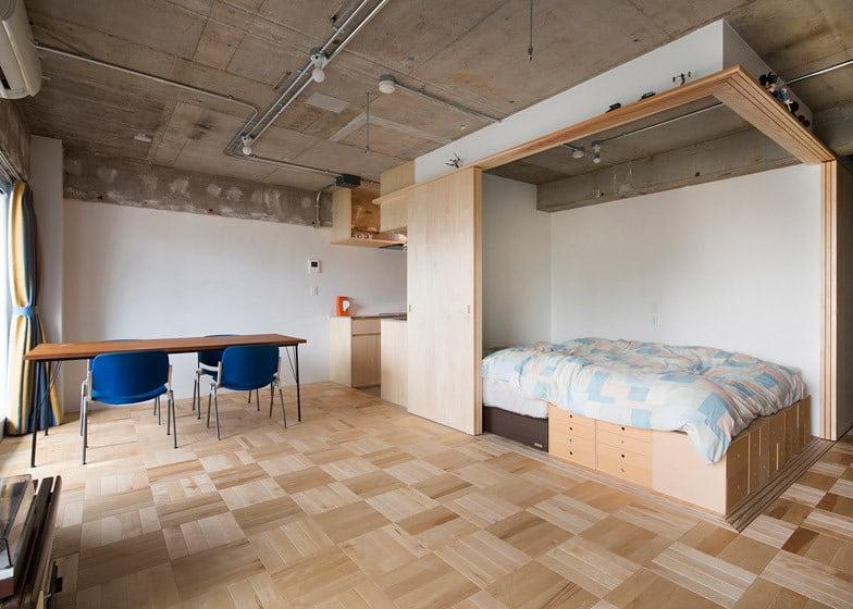 ذخیره سازی وسایل در آپارتمان کوچک