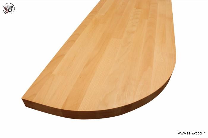 صفحه کابینت آشپزخانه چوب خاص , چوب راش فینگر جوینت , پانل ساپلی فینگر جوینت