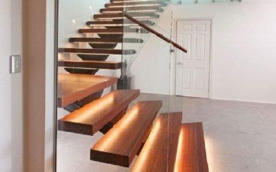 انواع کف های راه پله چوبی