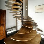 پله چوب و فلز , دکوراسیون داخلی و خارجی منزل , راه پله