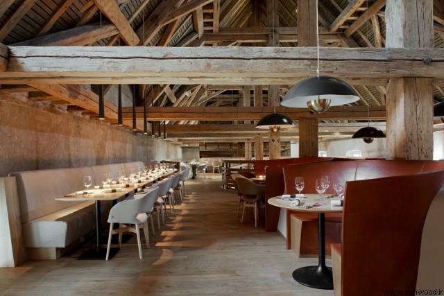 پله و طراحی رستوران واقع در استراسبورگ فرانسه, دکوراسیون رستوران